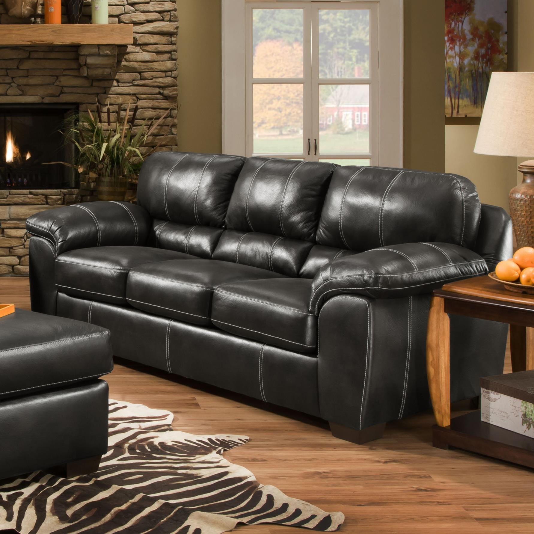 American Sofa Images 5450 Casual Sofa By American Furniture At Rooms For Less