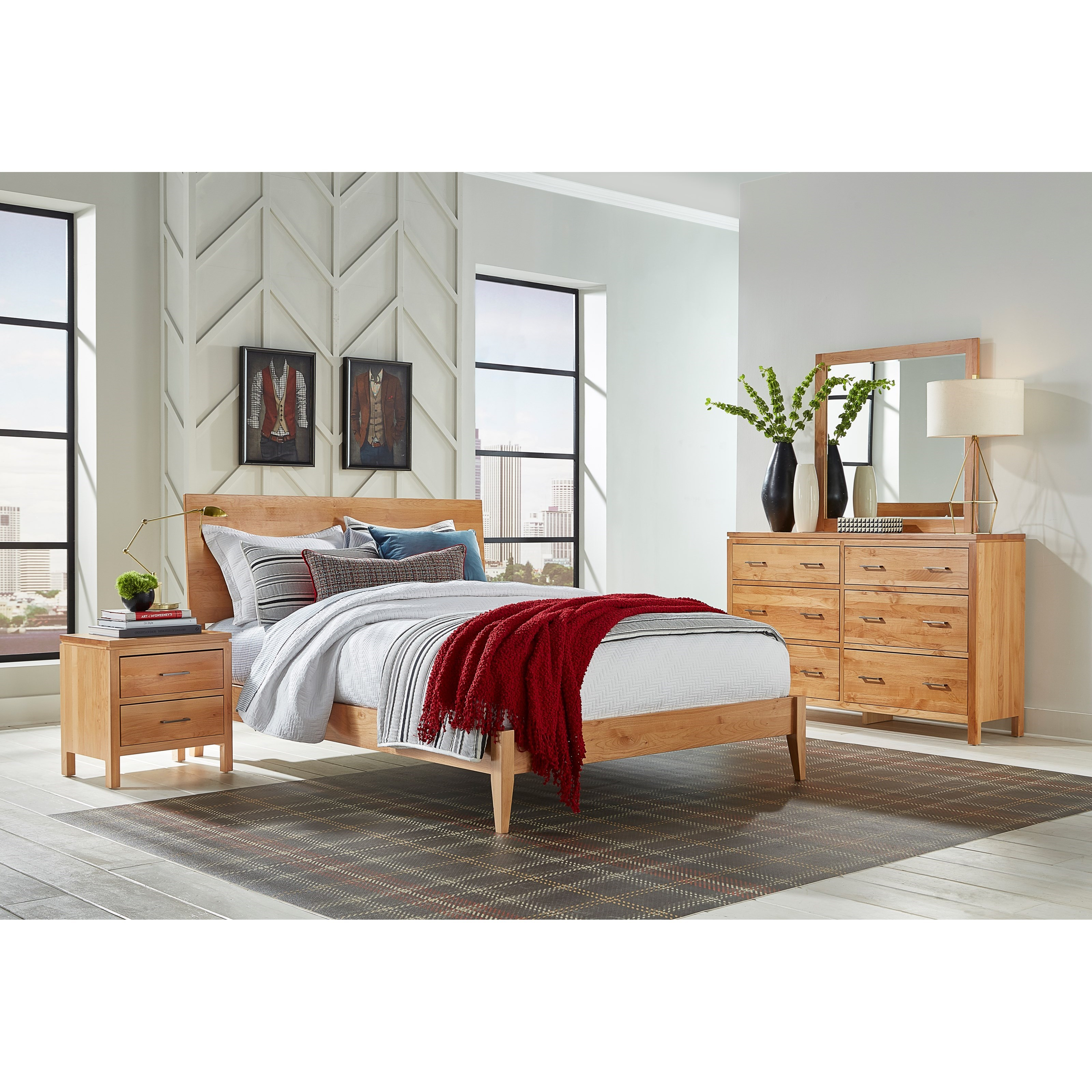 Archbold Furniture 2 West Bedroom Group Belfort Furniture Bedroom Groups