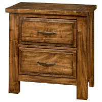 Artisan & Post Maple Road Solid Wood Maple Night Stand