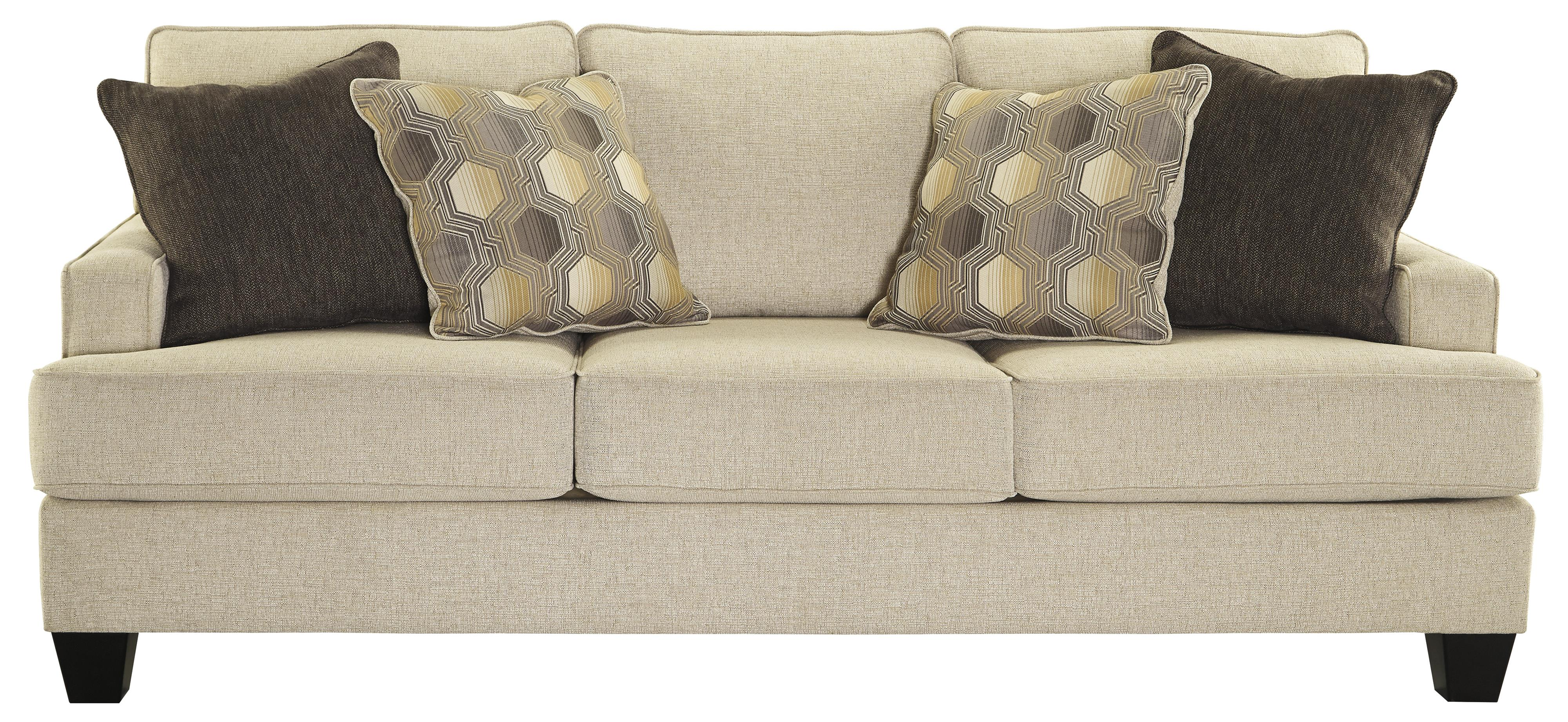 Queen Sofa Bed Brielyn Queen Sofa Sleeper With Memory Foam Mattress And Track Arms By Benchcraft At Household Furniture