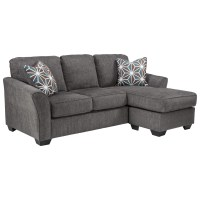 Benchcraft Brise Casual Contemporary Queen Sofa Chaise ...