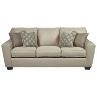 Benchcraft by Ashley Calicho Contemporary Queen Sofa ...