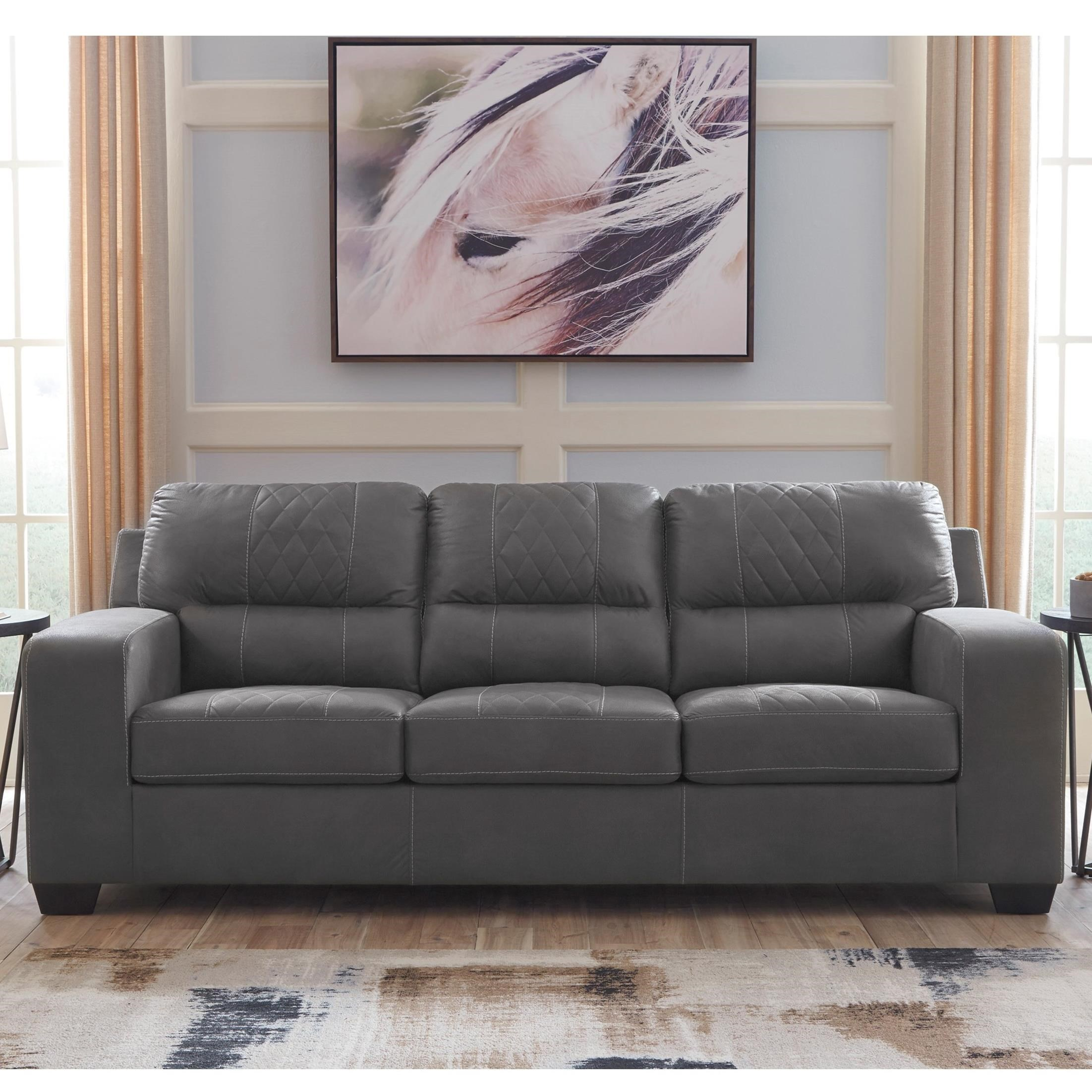Contemporary Couch Narzole Contemporary Sofa By Benchcraft At Value City Furniture