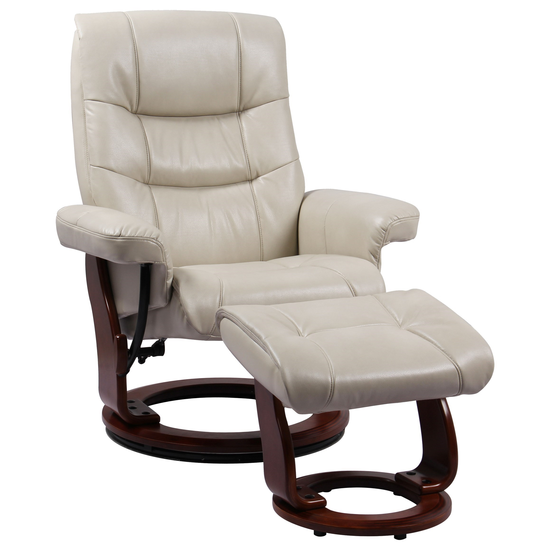 Chair Ottoman Rosa Ii Reclining Chair With Ottoman By Benchmaster At Wayside Furniture