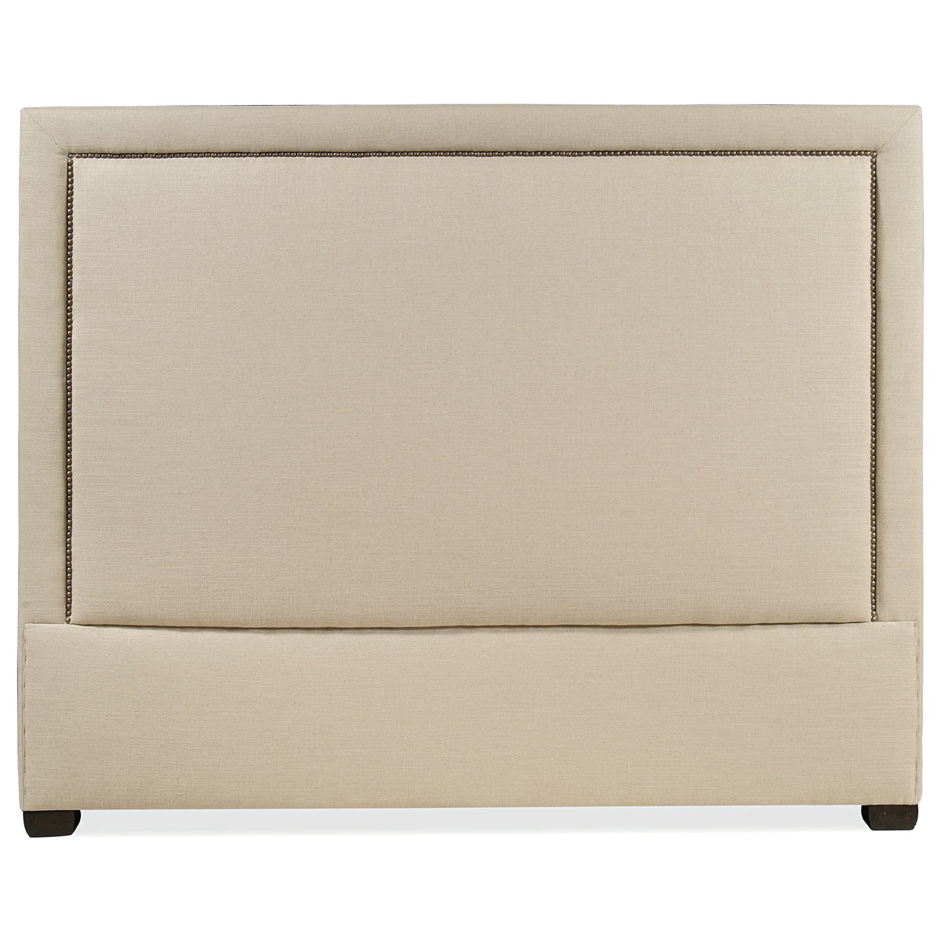 Making An Upholstered Headboard With Nailhead Trim Interiors Morgan Full Upholstered Panel Headboard With Nailhead Trim By Bernhardt At Dunk Bright Furniture