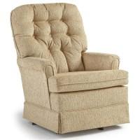Best Home Furnishings Swivel Glide Chairs Joplin Swivel ...