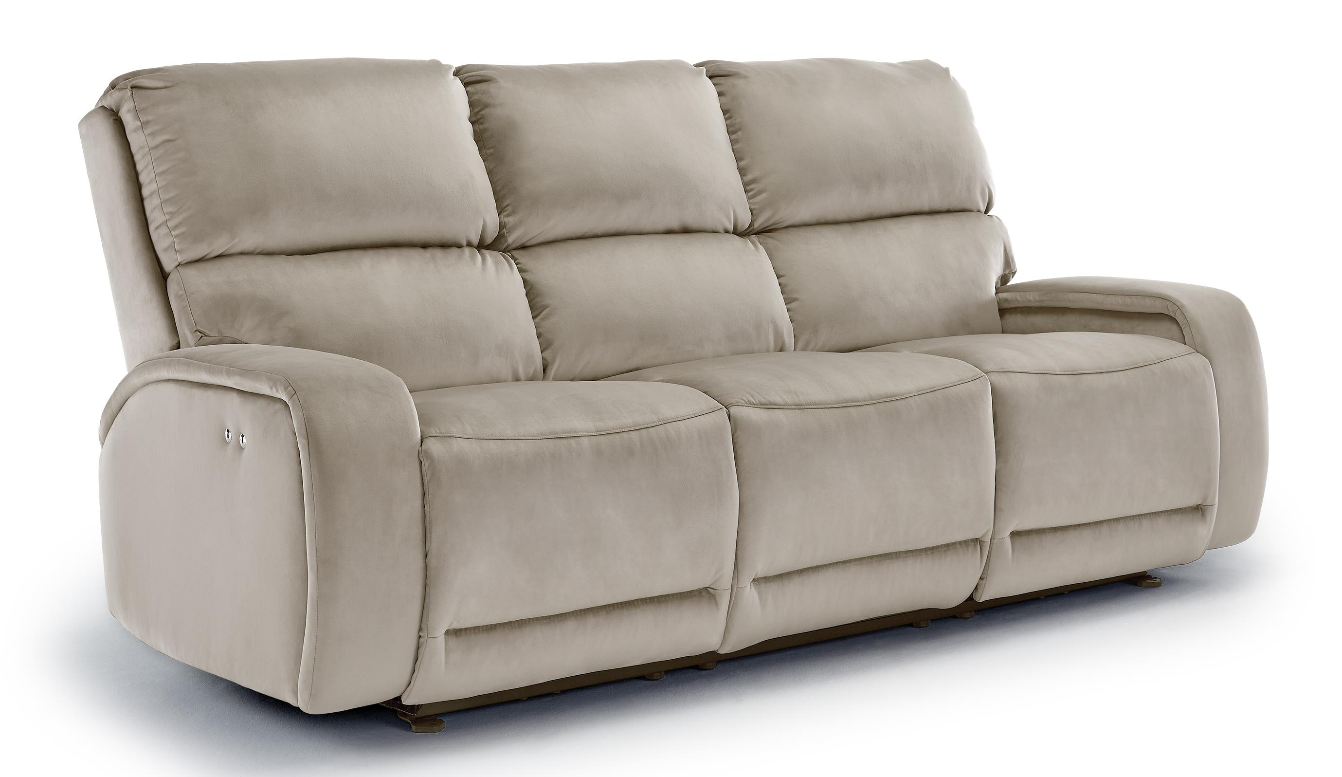 Sofa With Foam Seats Best Home Furnishings Matthew S650rp4 Power Reclining Sofa With