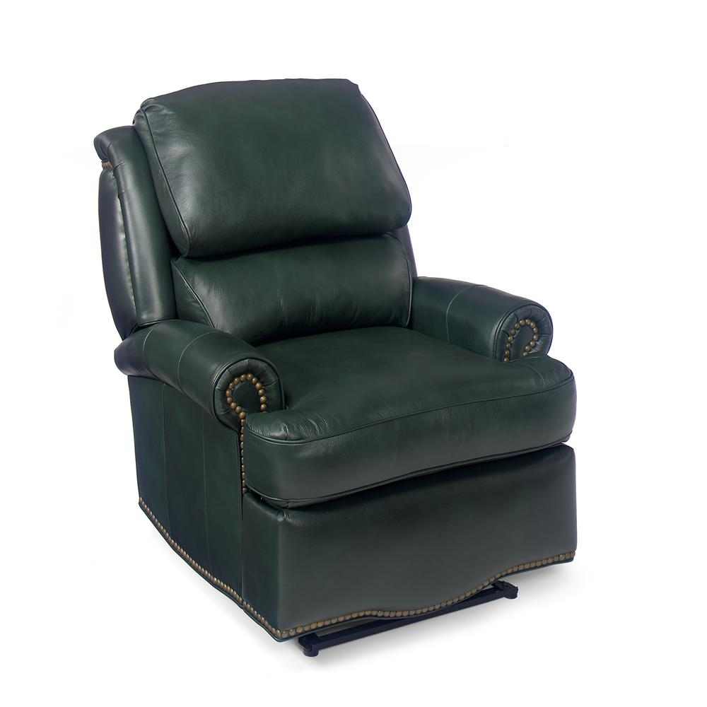 Bradington Young Chairs That Recline Laredo Swivel Glider Recliner With Brass Nails Howell Furniture Three Way Recliners