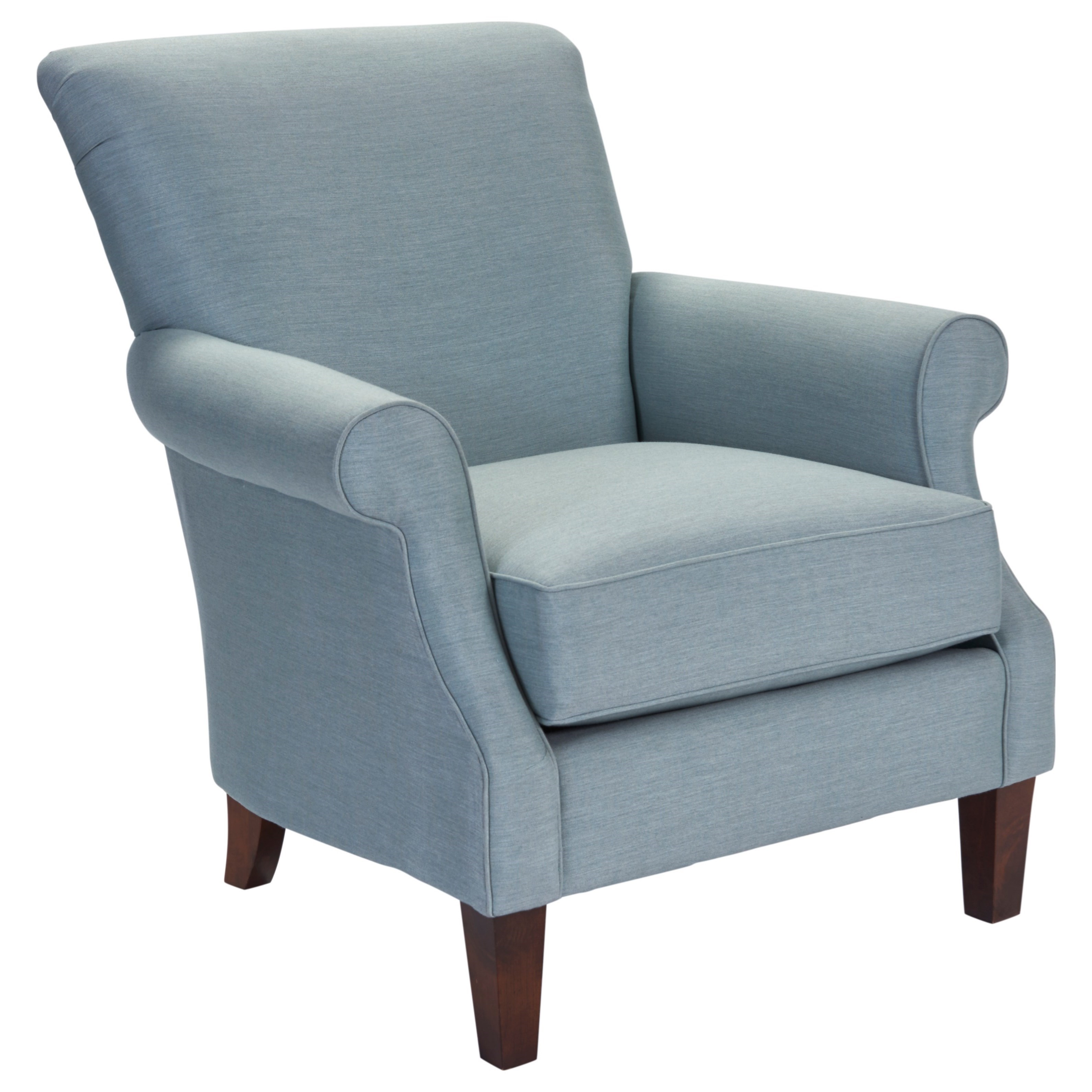 Recliner Jordan Furniture Jordan Accent Chair With Rolled Arms By Broyhill Furniture At Lindy S Furniture Company
