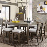 Belfort Select District 9 Piece Counter Height Dining Set ...
