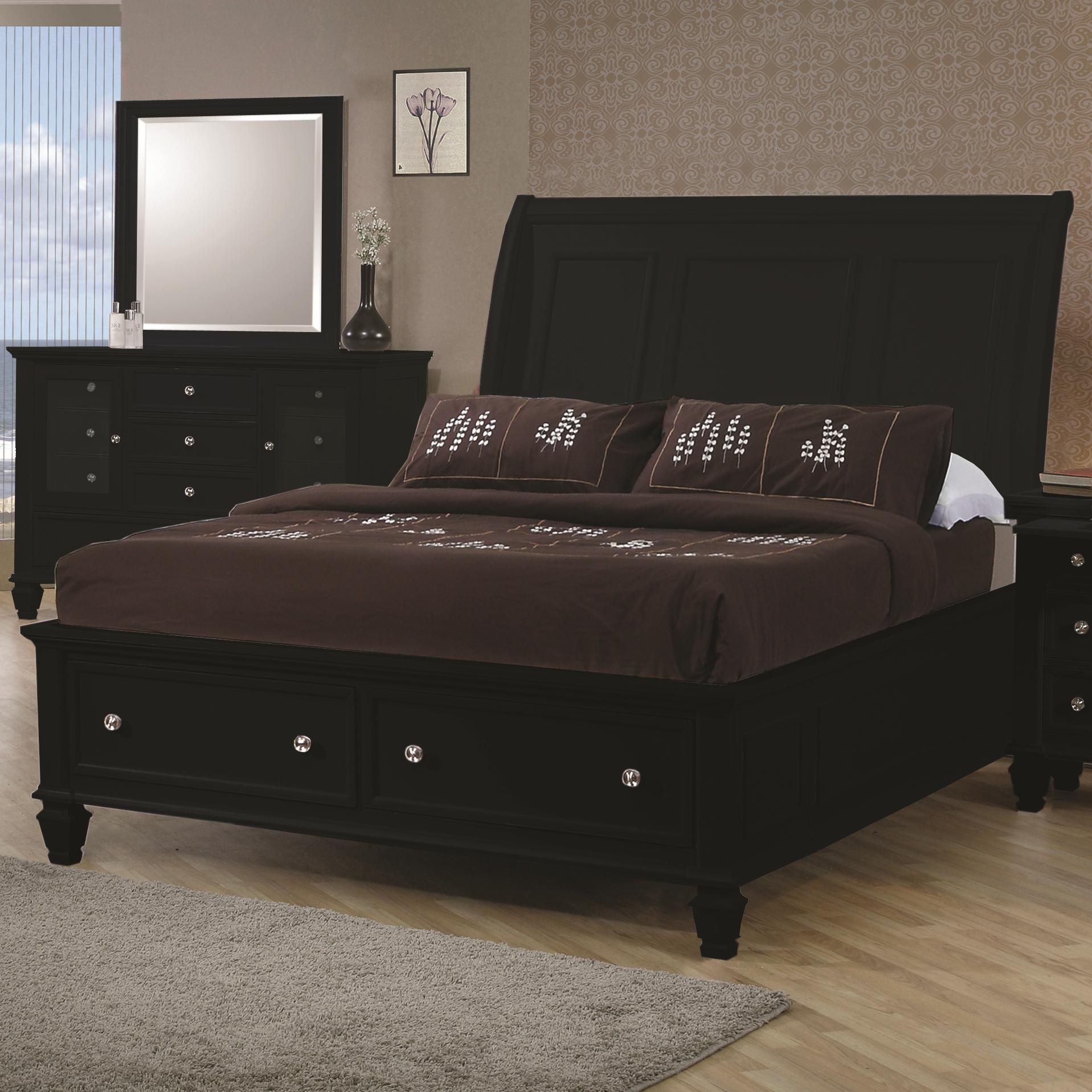 Coaster sandy beach king sleigh bed item number 201329ke