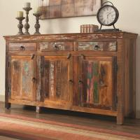 Coaster Accent Cabinets 950367 Rustic Cabinet w/ Doors ...