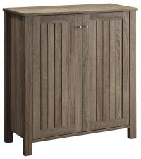 Coaster Accent Cabinets 950551 Weathered Gray Shoe Cabinet ...
