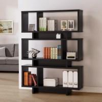 Coaster Bookcases Contemporary Geometric Bookcase | Value ...