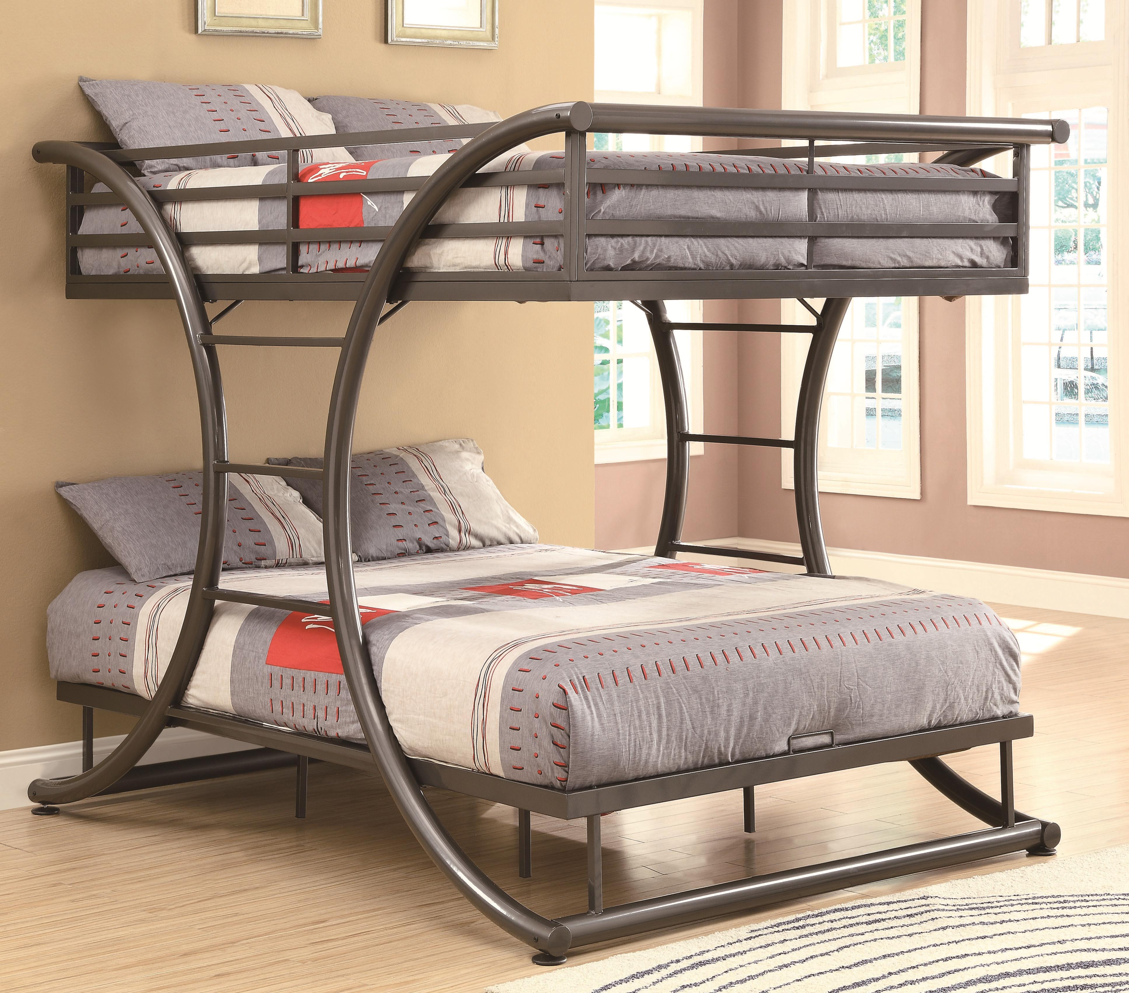 Double Bunks For Sale Bunks Full Over Full Contemporary Bunk Bed By Fine Furniture At Del Sol Furniture