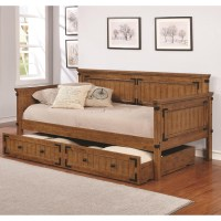 Coaster Daybeds by Coaster Rustic Daybed | Knight ...