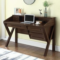 Coaster 801864 Contemporary Writing Desk with Outlet | Del ...