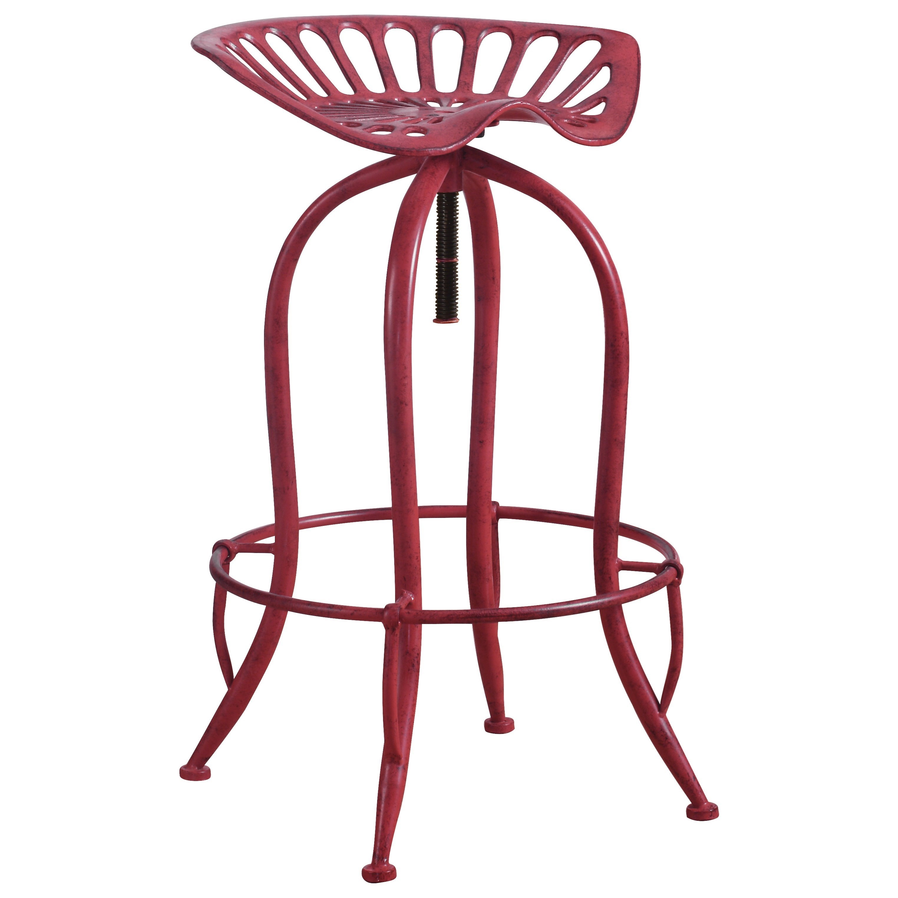Bar Stool Chairs Dining Chairs And Bar Stools Metal Tractor Seat Adjustable Stool By Coaster At Rooms For Less