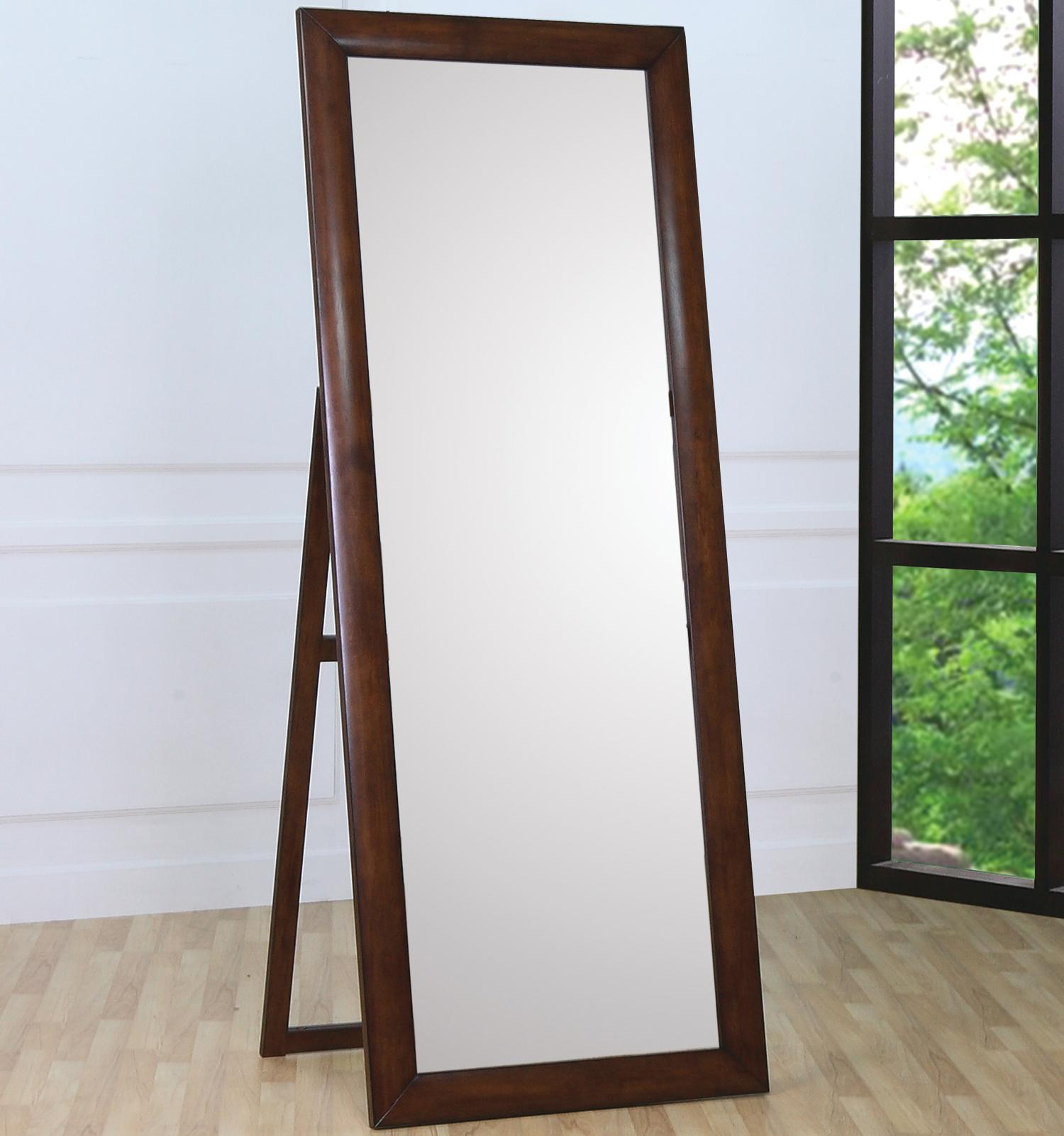 Standing Mirror Hillary And Scottsdale Contemporary Standing Floor Mirror By Coaster At Value City Furniture