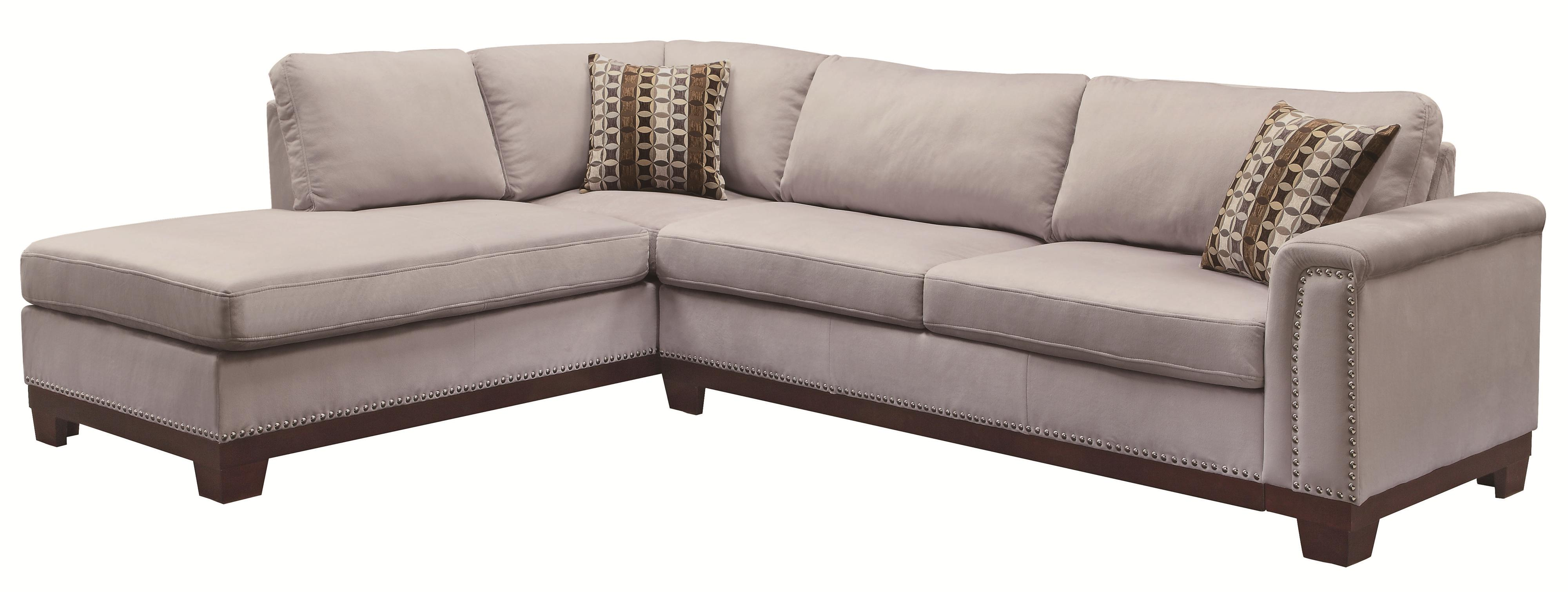 Cheap Sectional Sofa Mason Track Arm Reversible Sofa Chaise Sectional By Coaster At Value City Furniture