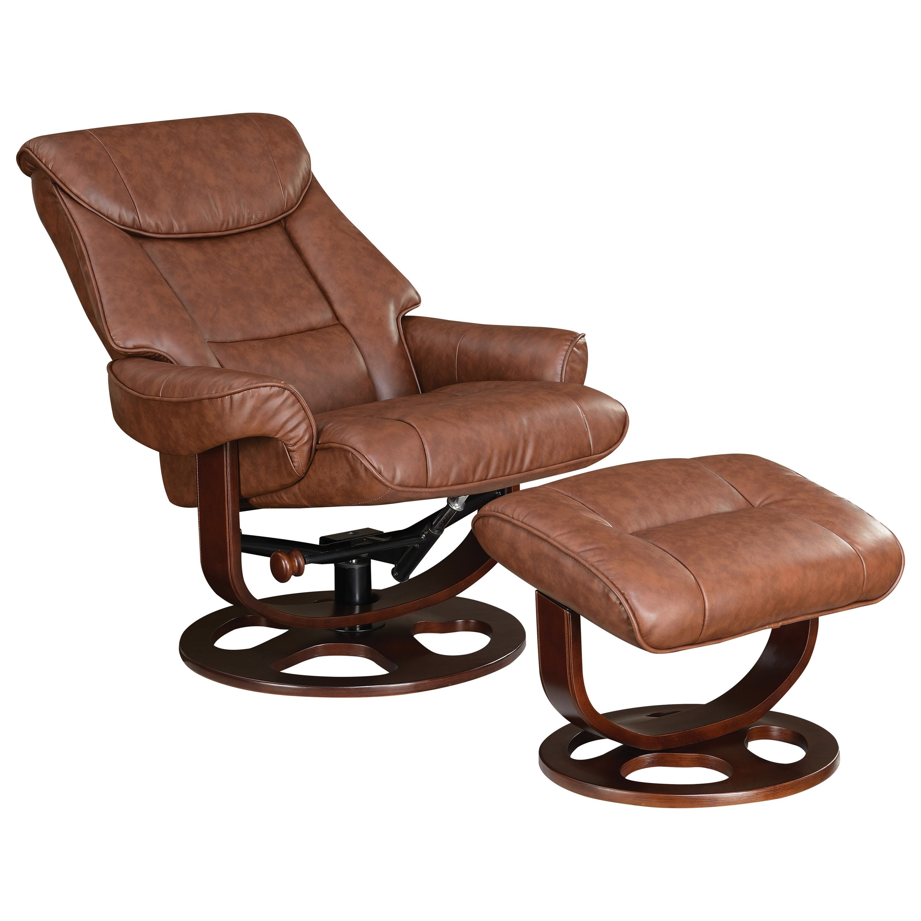 Stressless Recliners With Ottoman Coaster Recliners With Ottomans 600087 Ergonomic Chair And