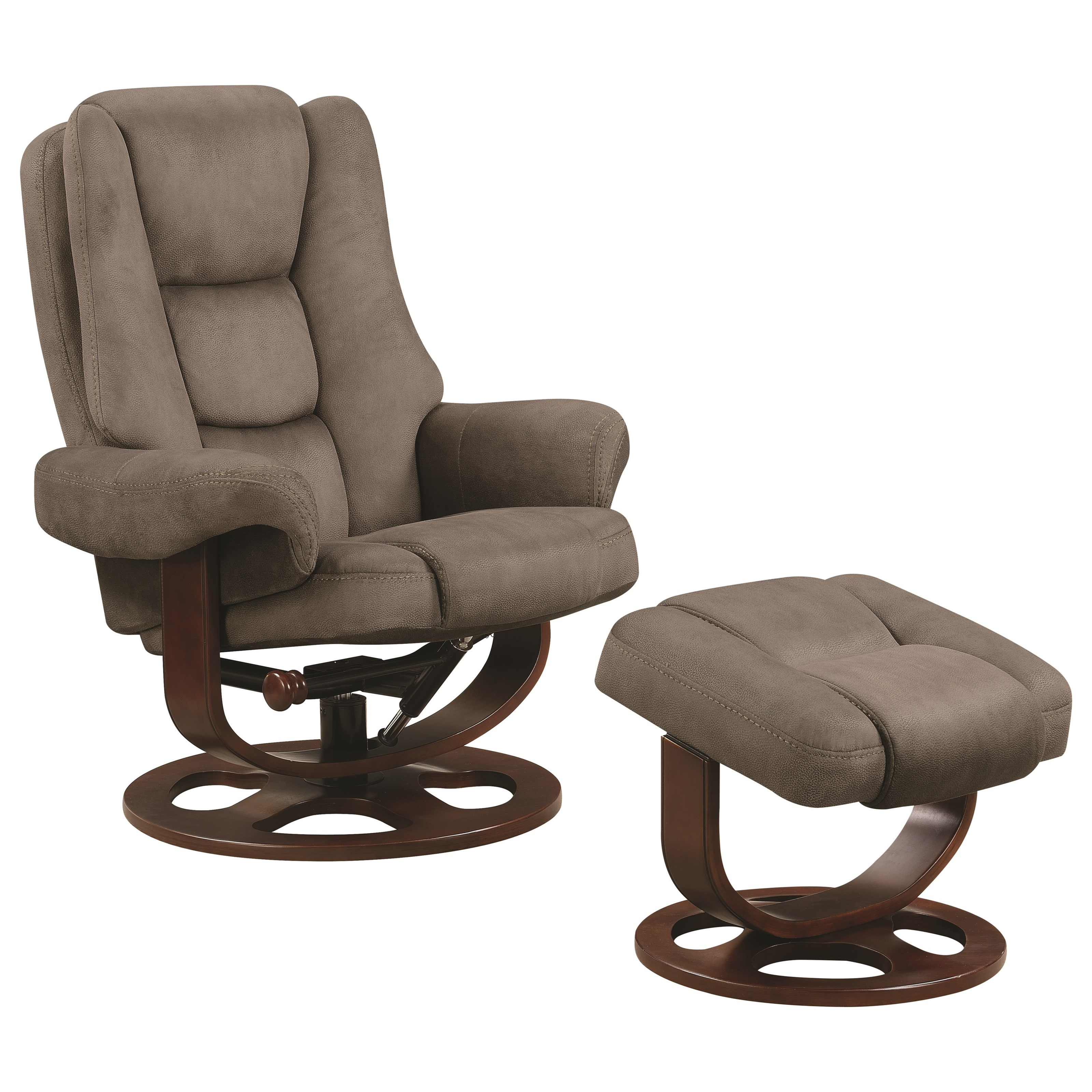 Stressless Recliners With Ottoman Coaster Recliners With Ottomans 600096 Reclining Chair