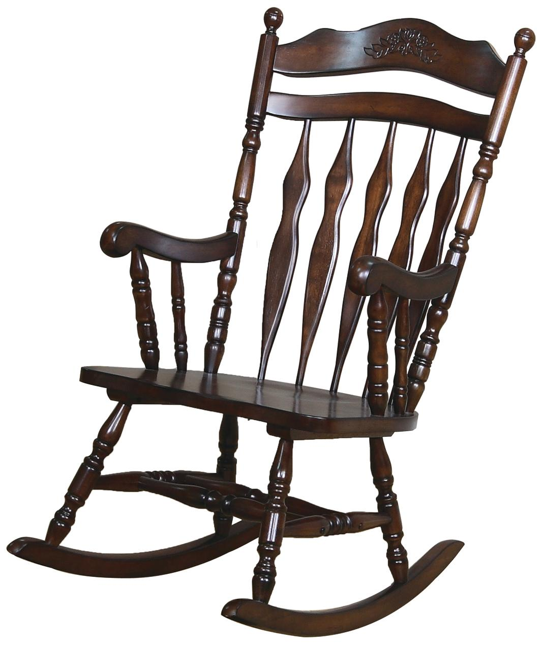 Best Place To Buy Rocking Chairs Rockers Traditional Country Wood Rocker By Coaster At Furniture Superstore Nm