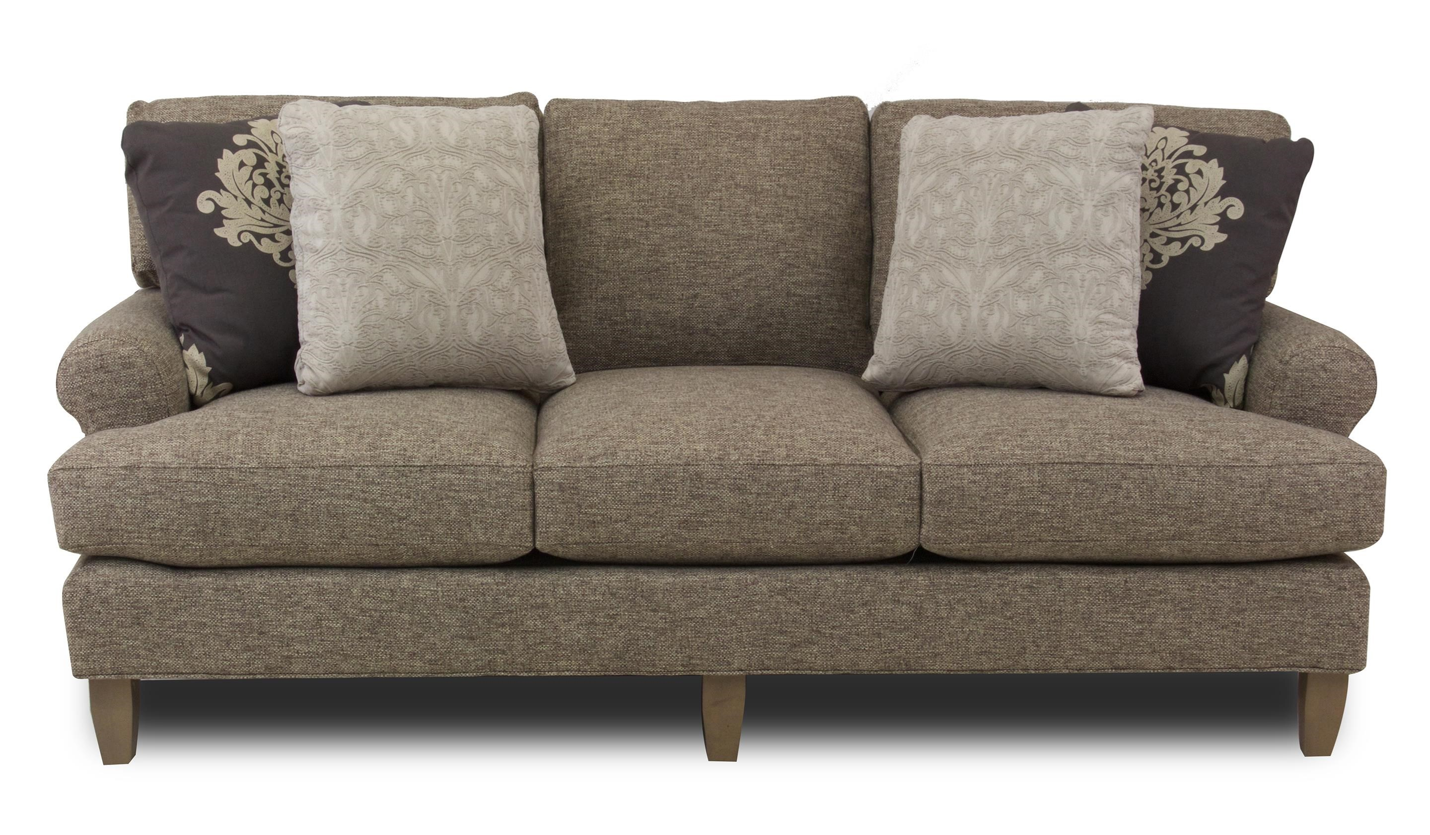 Sofa S Latte Transitional Sofa By Hickory Craft At Ruby Gordon Home