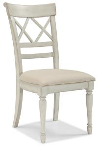 Cresent Fine Furniture Cottage Cottage Dining Chair w ...