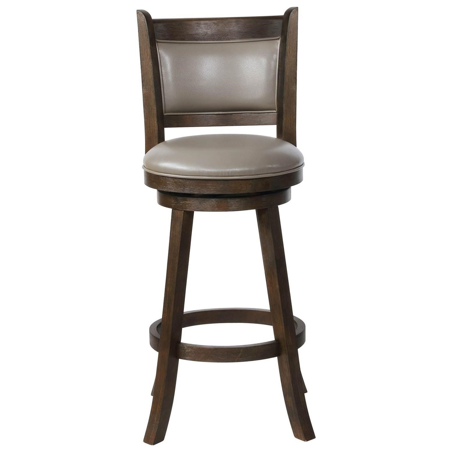 Metal Stools Bar Stools Cm Swivel Bar Stool With Upholstered Seat And Back By Crown Mark At Royal Furniture