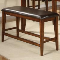 Crown Mark Figaro 2701-BENCH Counter Height Bench with ...