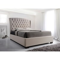 Crown Mark Kaitlyn Upholstered Queen Headboard and ...