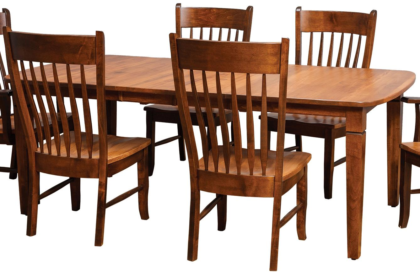 Daniels Amish Tables Distressed Rectangular Dining Table Virginia Furniture Market Kitchen Tables