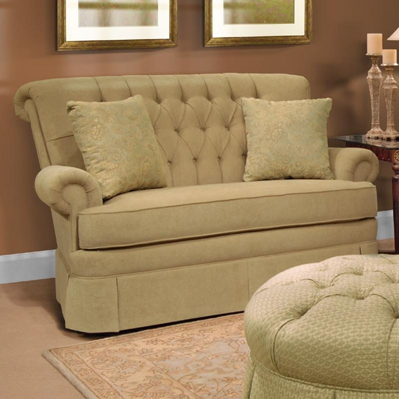 Stressless You Sofa England Fernwood 1156 Loveseat With Skirt | Dunk & Bright