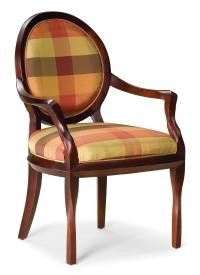 Fairfield Chairs Exposed Wood Occasional Chair ...