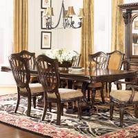 Fairmont Designs Grand Estates Double Pedestal Rectangular ...