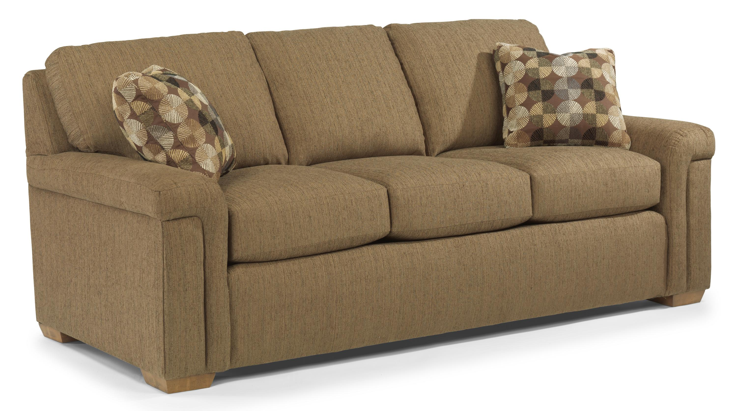 Sofa Express Pineville Nc Flexsteel Blanchard B Value Package B Casual Sofa With Pillow