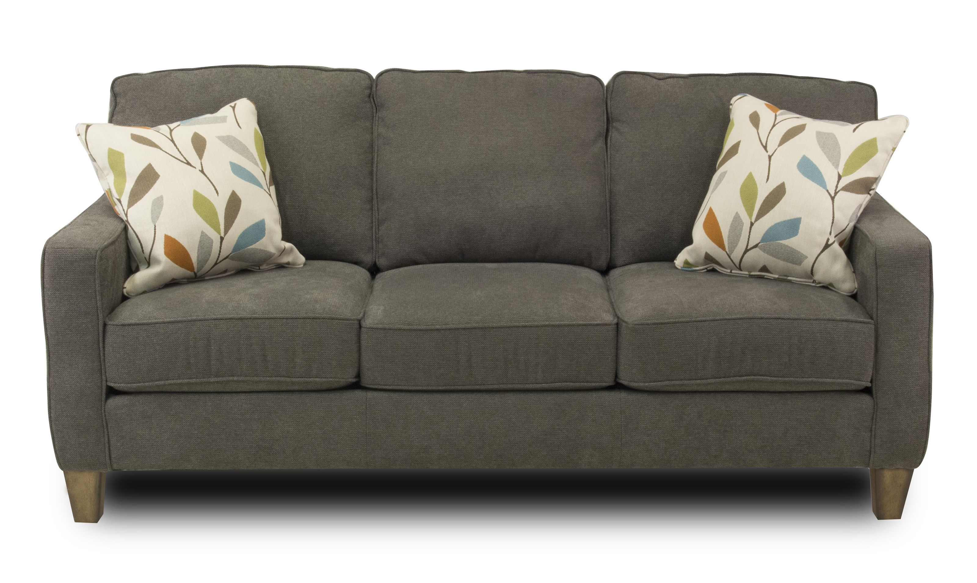 Cord Sofa Macleran Stationary Sofa With Reversible Seat Cushions And Welt Cord Accent By Flexsteel At Ruby Gordon Home
