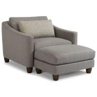 Flexsteel Sasha 7940 Contemporary Chair & a Half and ...