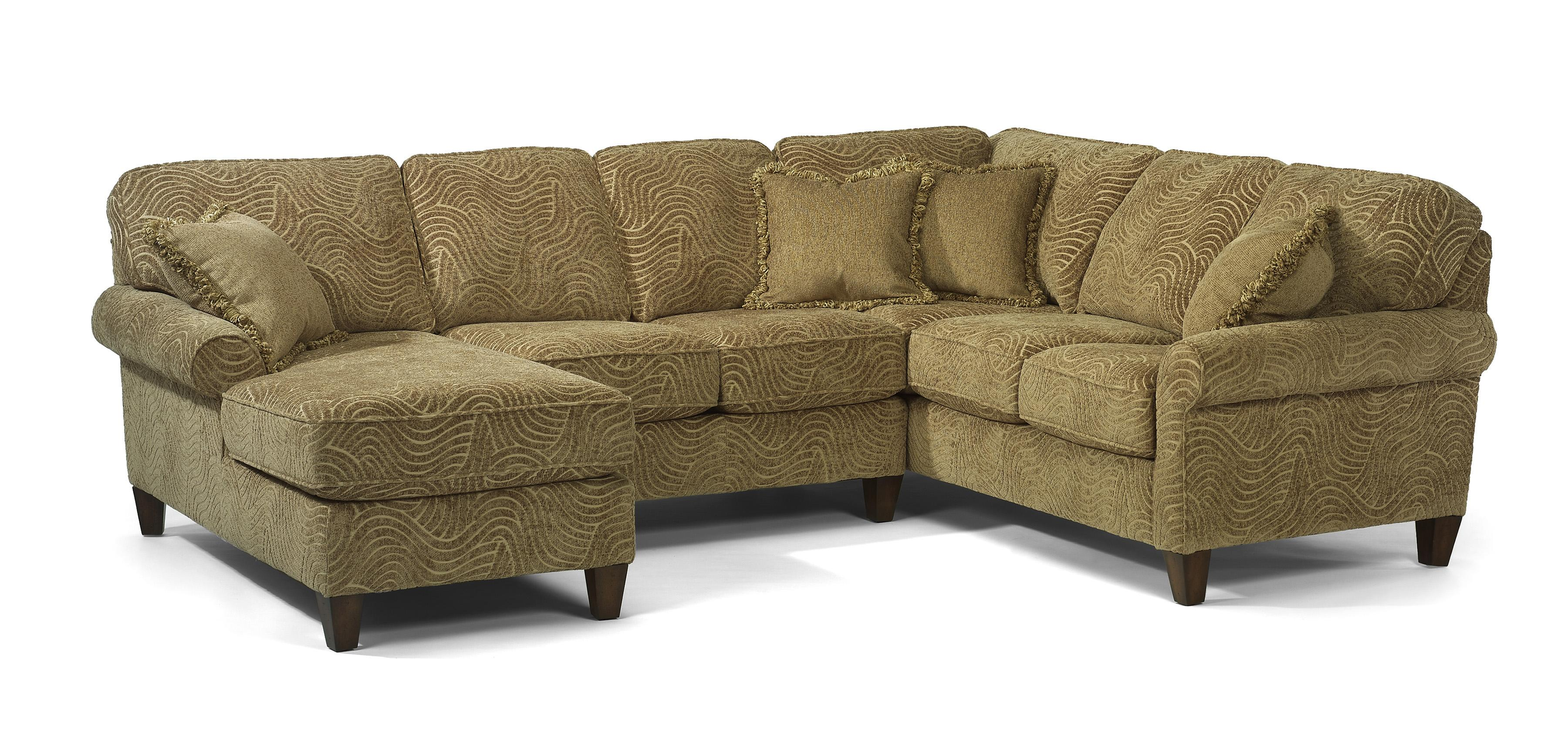 Sofa Express Pineville Nc Flexsteel Westside Casual Corner Sectional Fabric Upholstered Sofa
