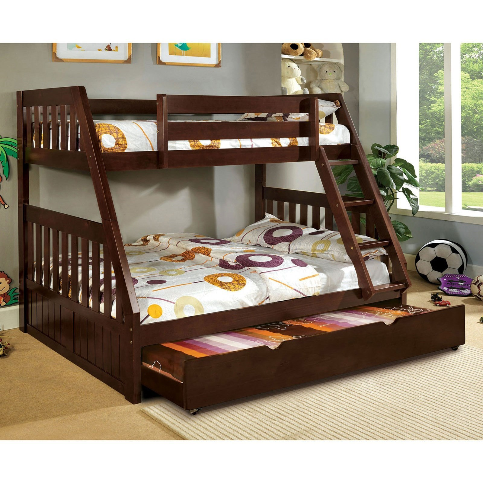 Furniture Stores Canberra Canberra Twin Over Full Bunk Bed By Furniture Of America At Rooms For Less