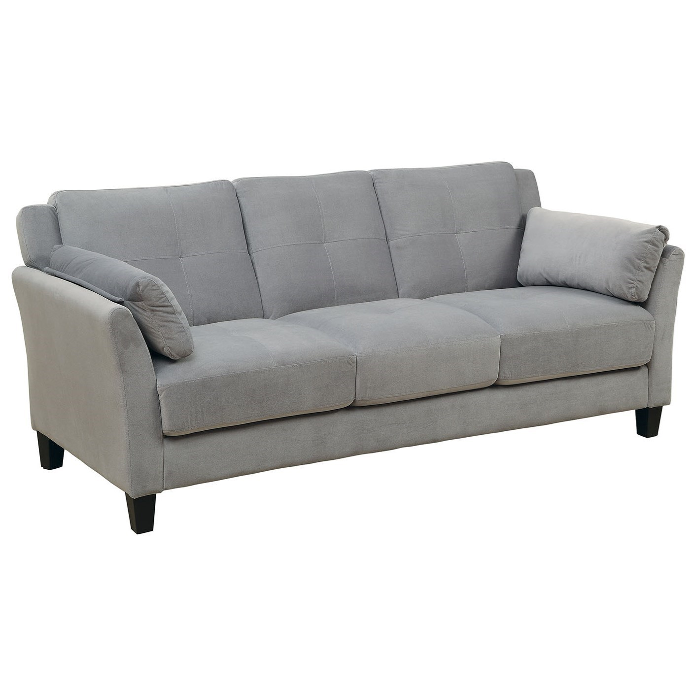 Contemporary Couch Ysabel Contemporary Sofa By Furniture Of America At Rooms For Less