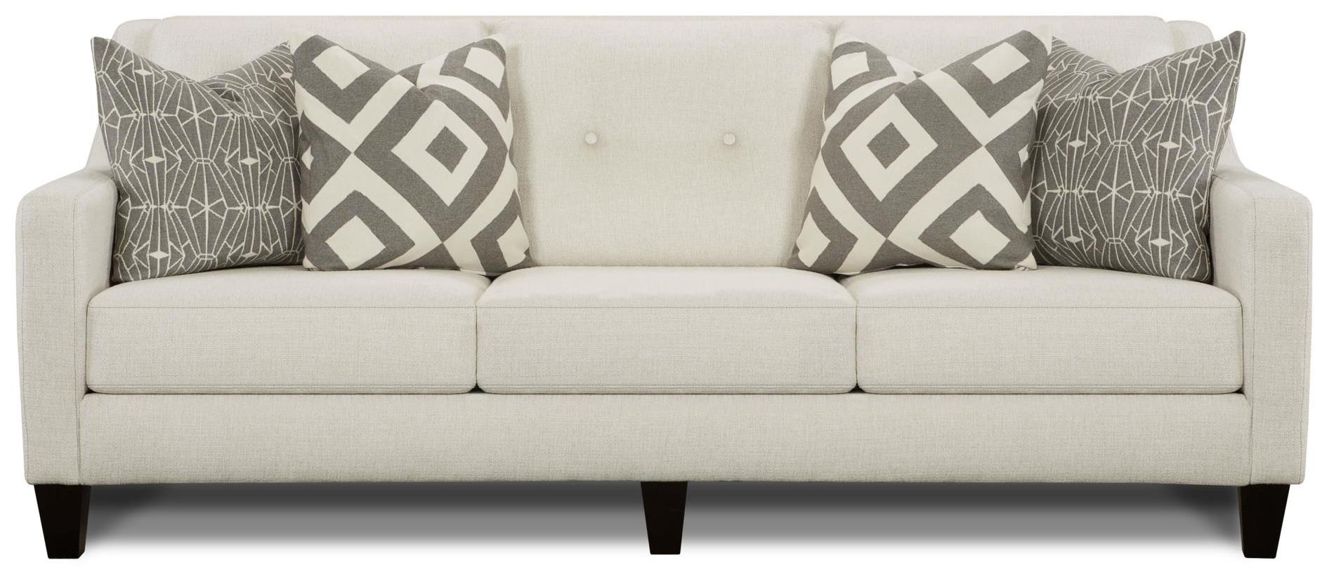 Emblem Contemporary Sofa With Track Arms Belfort Furniture Sofas