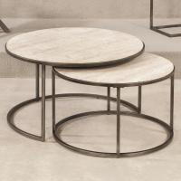 Hammary Modern Basics Round Nesting Cocktail Tables ...