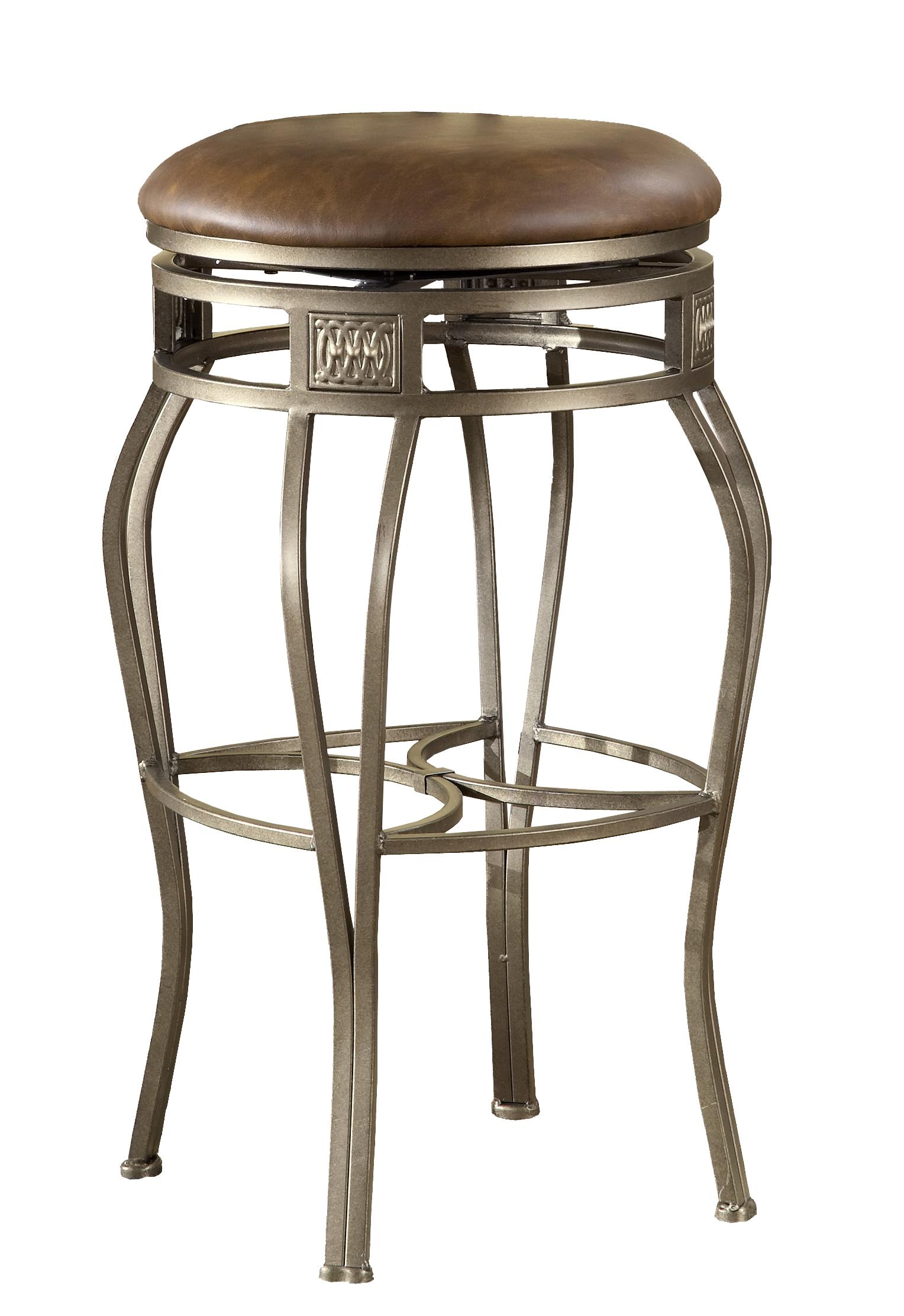 Hillsdale Backless Bar Stools 26 Backless Montello Swivel Counter Stool Boulevard Home - Backless Stools