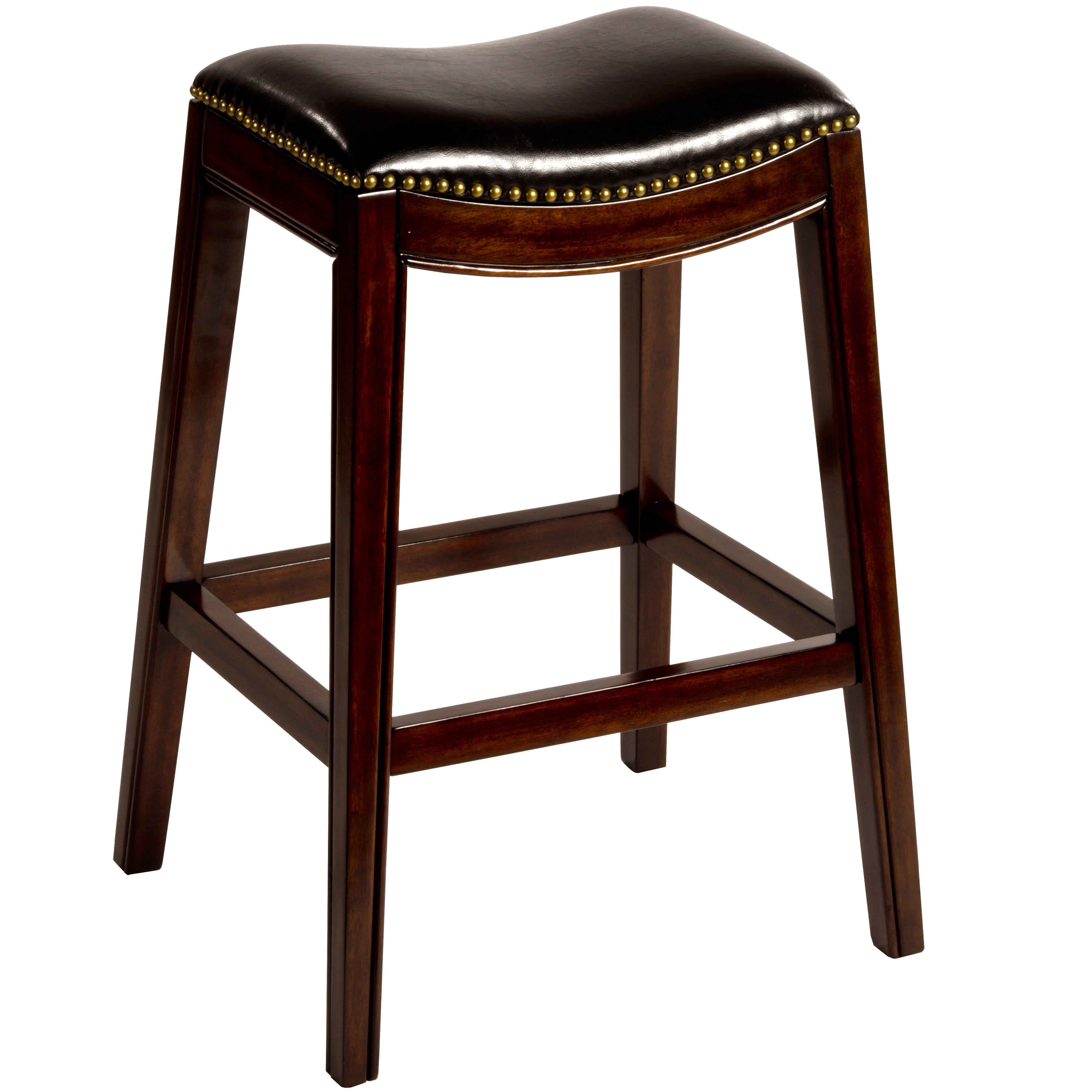 "Saddle Bar Stools Hillsdale Backless Bar Stools 30"" Sorella Saddle Backless"