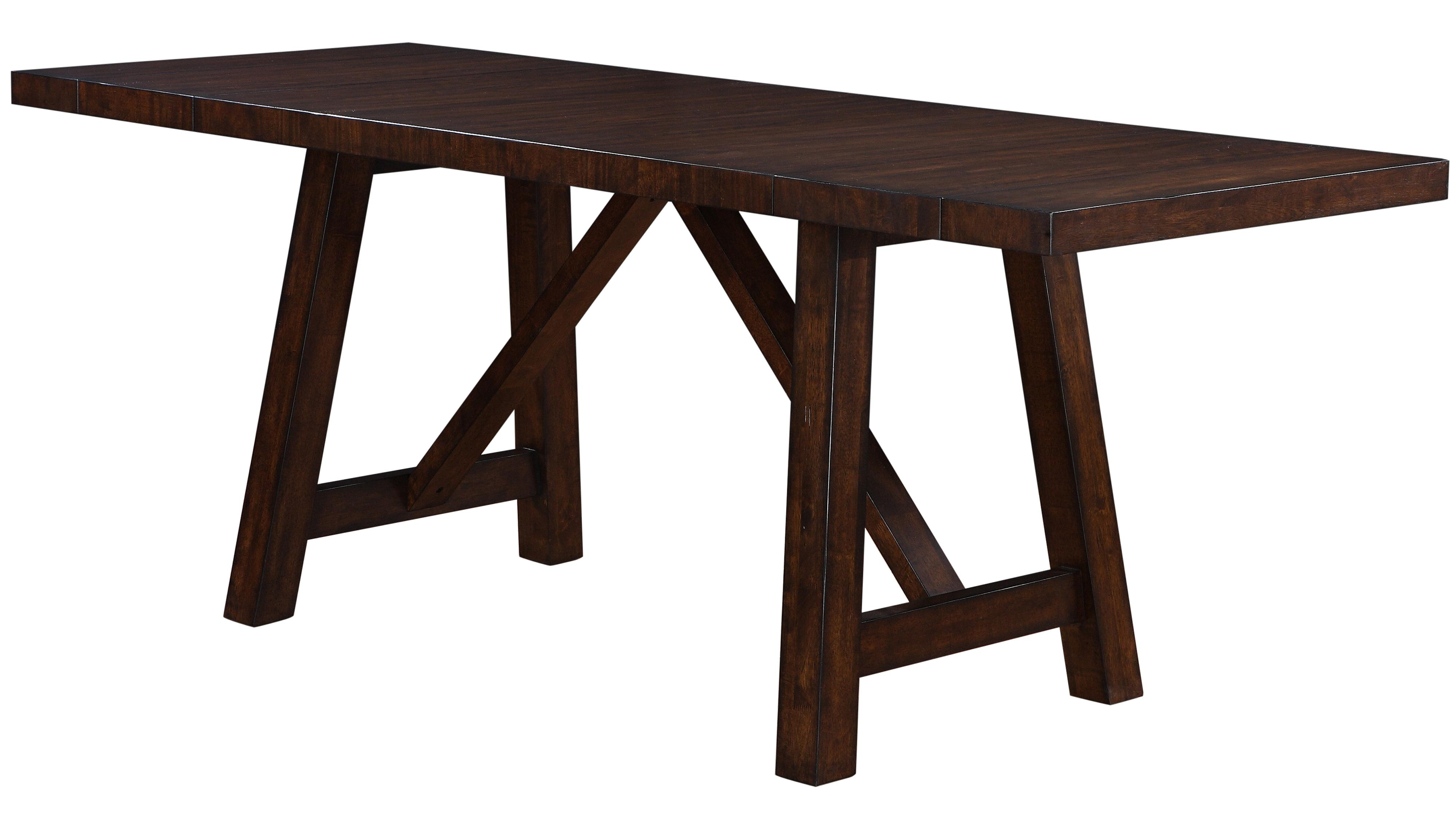 Holland House Lakeshore 1278 4296l Colonial Trestle Table