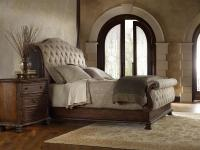 Hamilton Home Adagio King Tufted Sleigh Bed with ...