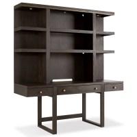 Hooker Furniture Curata Modern Wooden Wall Desk