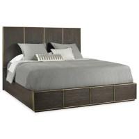 Hooker Furniture Curata Modern Queen Low Bed | Belfort ...